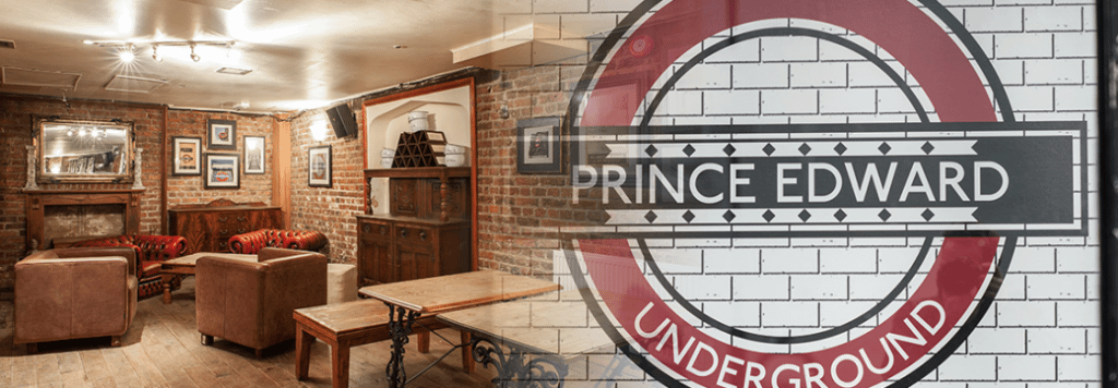 Prince Edward Notting Hill - Function room and home to the Underground Comedy Club