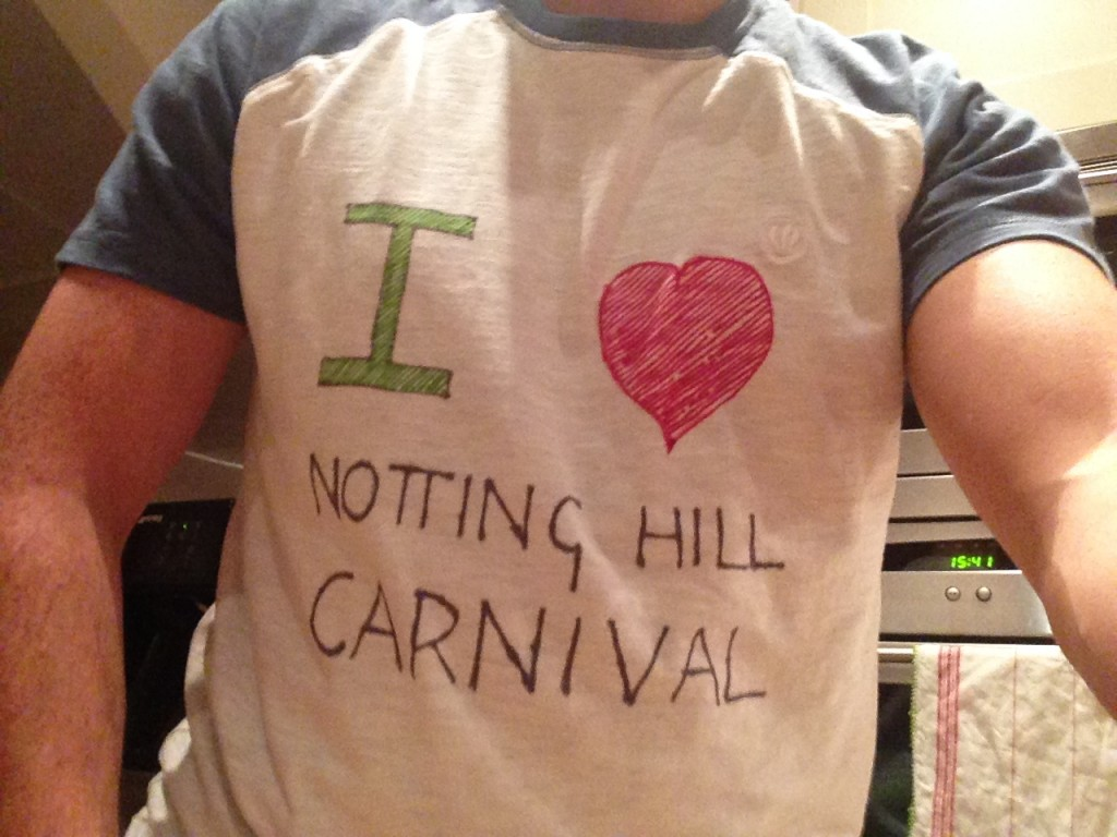 Dan Tambling - Notting Hil Carnival Set T-shirt