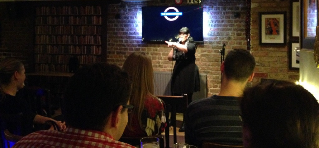 Allyson June Smith Performing Headliner at the Underground Comedy Club London Notting Hill