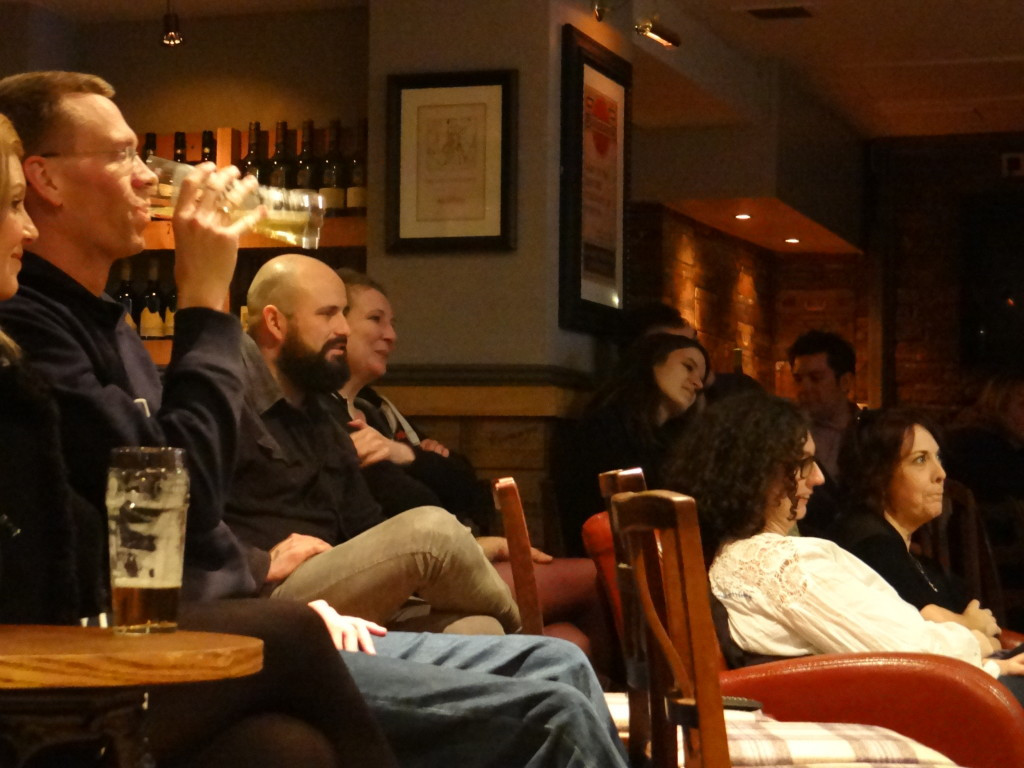 Audience at the Underground Comedy Club Notting Hill 2015-02-26.JPG