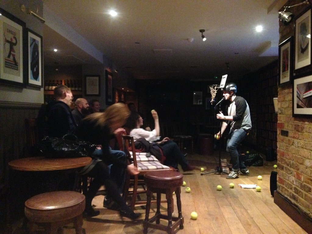 James Bran Opening at the Underground Comedy Club Notting Hill 2015-02-26