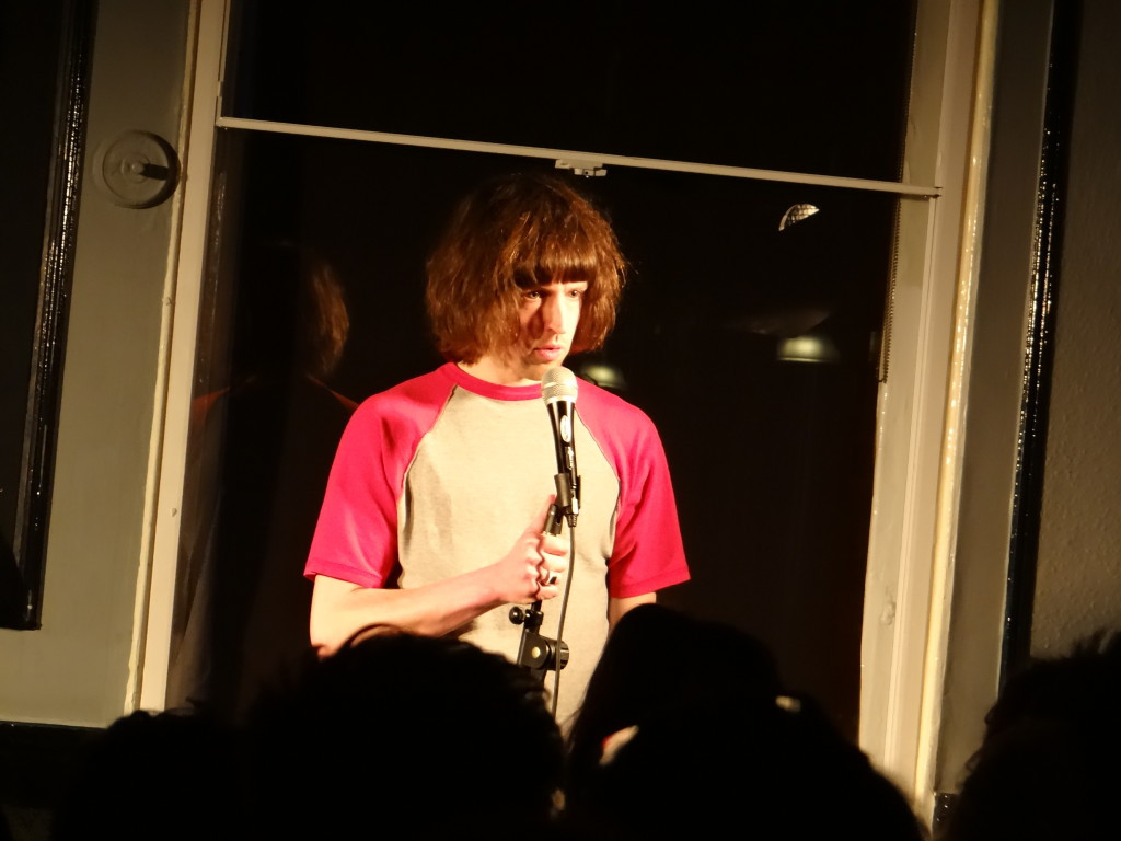 Tom Ward performing at Underground Comedy Club Kentish Town 2015-04-09